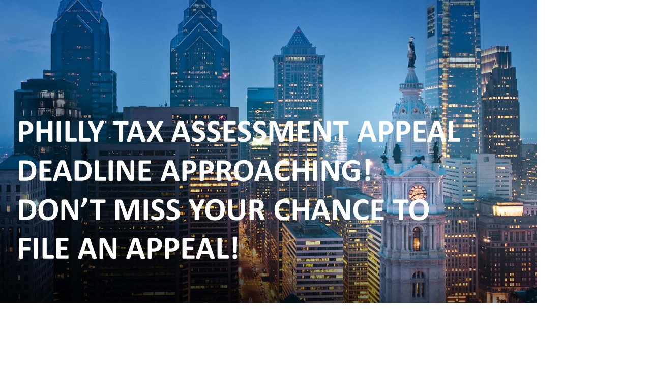 Tax Appeal Deadline Approaching